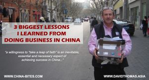 My 3 biggest lessons learned from doing business with China